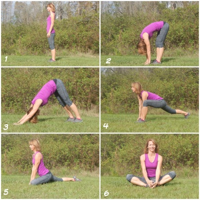 5 Minute Quick Yoga Flow for Runners